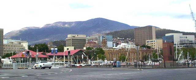 Mount Wellington in hobart