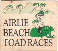 airlie beach toad races