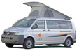 budget camper vans, motorhomes, campers and RV hire and rentals