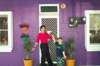 wagga wagga's purple house, click to enlarge