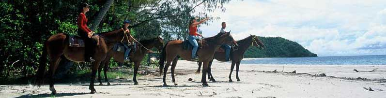 horse ridiing in australia