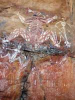 kakadu aboriginal rock art