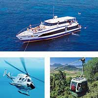 cairns skyrail great barrier reef scenic flight