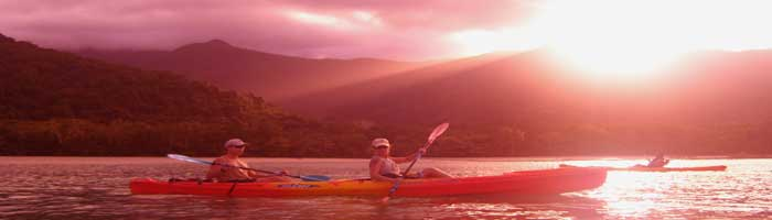 sea kayaking in cape tribulation in australia